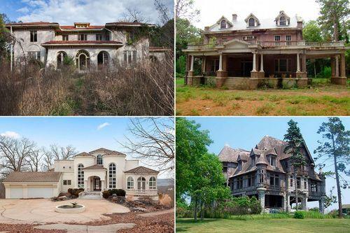Внутри шести потрясающе красивых заброшенных особняков в США.