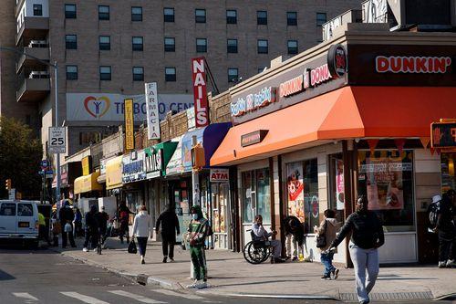 Секция Моррисания в Бронксе, где 66-летний мужчина азиатского происхождения стал жертвой неспровоцированного нападения.