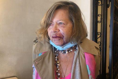 Джудит Томас, бывший корреспондент канала 9, 2 апреля 2021 года подверглась случайному нападению на 118-й улице в Гарлеме, штат Нью-Йорк.